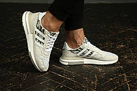 Мужские кроссовки Adidas ZX 500 RM Beige Camo / Обувь Адидас ЗХ 500 летние бежевые светлые