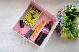 """Подарочный набор мыла """"Ferrari"""" для женщины"""