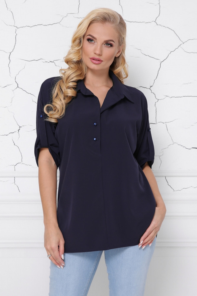Блуза-рубашка ботал с 48 по 58 размер