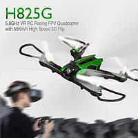 Видеообзор Квадрокоптер с камерой и видеошлемом Helicute H825G FPV RACER 3.0 с камерой FPV