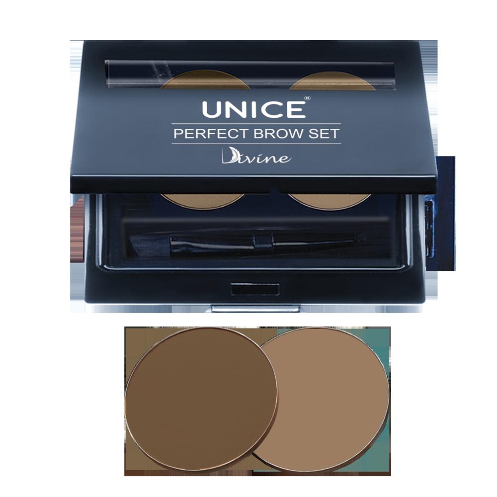 Набір для макіяжу брів Giz Cosmetics Unice Divine, 2 × 2,5 г PBS01 (3332001)