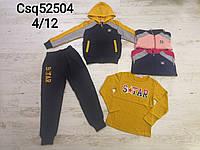 Трикотажный костюм-тройка для девочек оптом, Seagull, 4-12 лет, арт. CSQ-52504