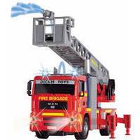 Пожежна машина зі світловими і звуковими ефектом Dickie Toys 3715001