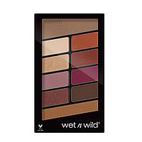 Палетка теней 10 оттенков Wet n Wild Rose In The Air Color Icon Eyeshadow 758