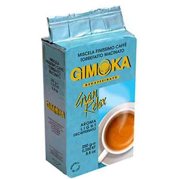 Кофе Gimoka Gran Relax (250 г) молотый без кофеина