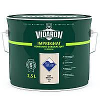Пропитка для дерева с биозащитой Импрегнат Vidaron (V17 выбеленный дуб) 2,5 л