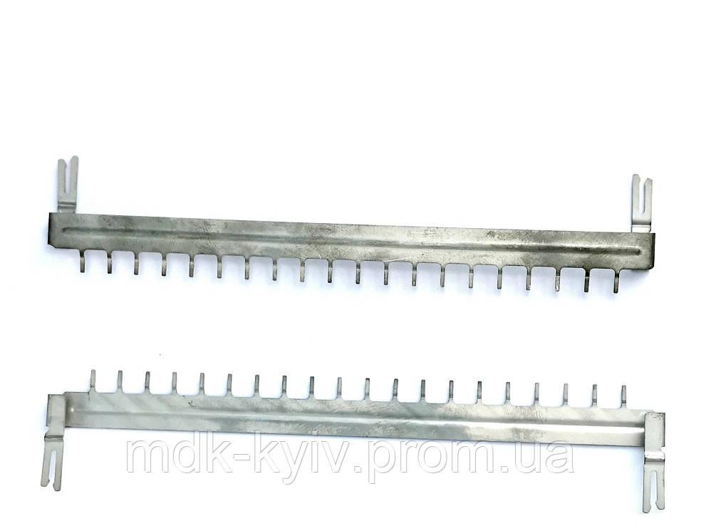 LU-20VP — шина заземления для 20-парных размыкаемых врезных плинтов серии VP, Польша