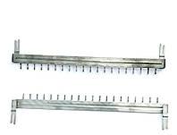 LU-20VP — шина заземления для 20-парных размыкаемых врезных плинтов серии VP, Польша, фото 1