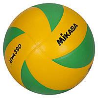 Мяч волейбольный Mikasa MVA 390 CEV (оригинал), фото 1