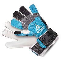 Перчатки вратарские SELECT 22 FLEXI GRIP (375) син/черн/бел/син p.10