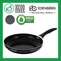 Сковорода Edenberg с мраморным антипригарным покрытием 24 см (EB-756)