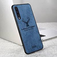 Чехол Deer для Samsung Galaxy A50 2019 A505 с джинсовым покрытием (3 Цвета)