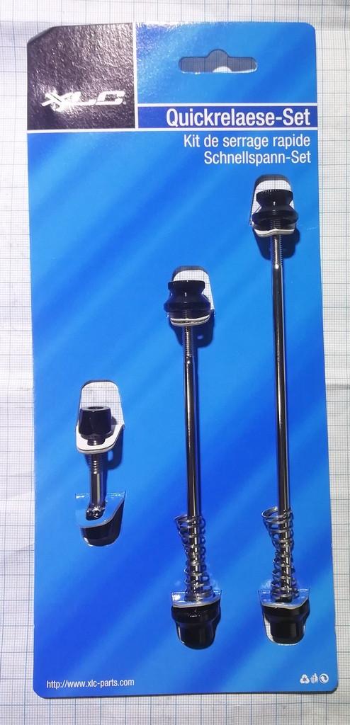 QR-A01 XLC Schnellspannset Innensechskant