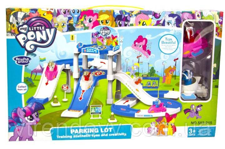 Набор парковка SP My little pony