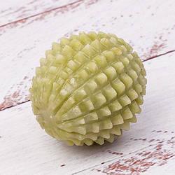Нефритовый массажный мяч шар-ежик 10,5Х4,5Х5,5 см