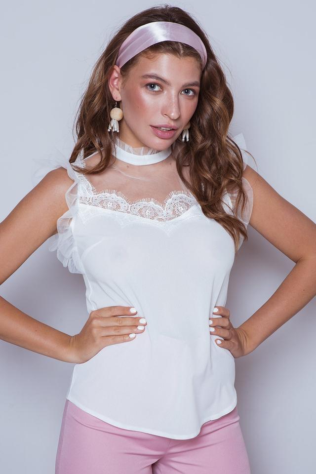 Фото Женской блузы без рукавов Вербена