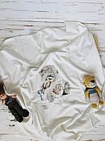 Детский трикотажный плед для новорожденных Bebessi Турция