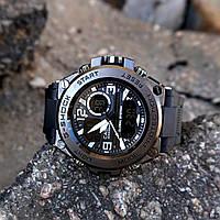 Мужские Часы Casio GLG-1000 \ Касио \ Спортивные\ Браслет\ Черные \Чорні \Чоловічі Часи Годинник  ГАРАНТИЯ