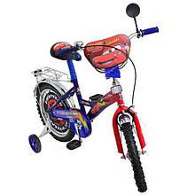 """Детский велосипед Mustang  """"Тачки"""" Cars (14 дюймов)"""