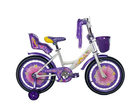 Детский велосипед для девочек Azimut Girls (20 дюймов), фото 2