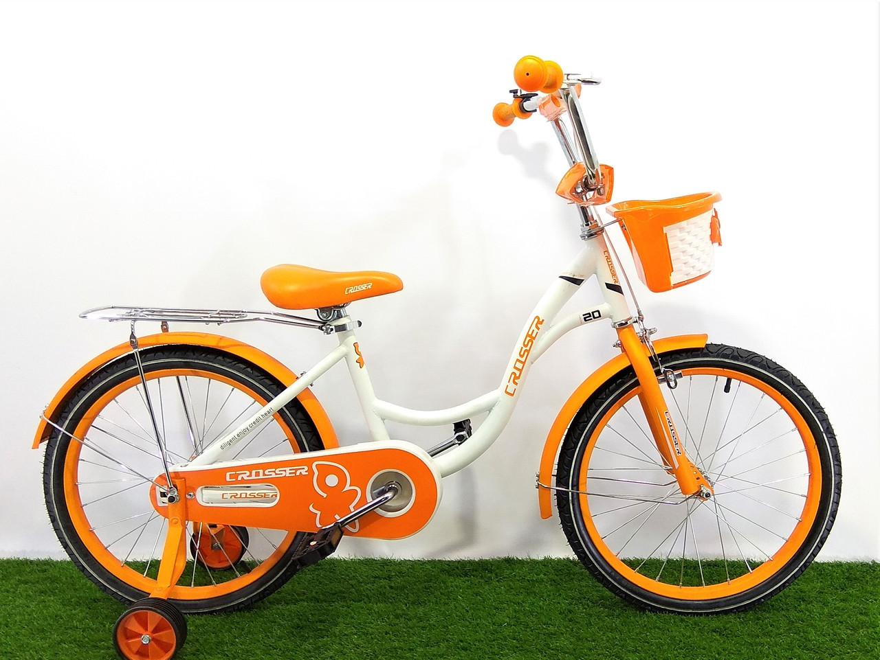 """Детский велосипед Crosser JK-703 20"""""""