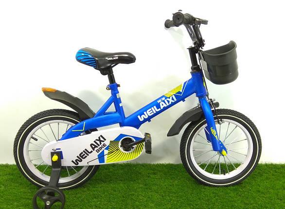 """Детский велосипед 876 14"""", фото 2"""