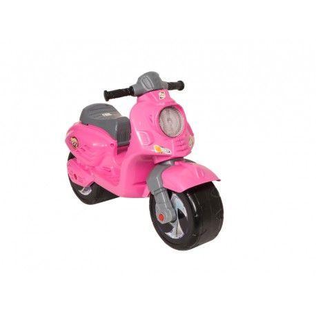 Скутер-каталка, розовый 502_Р