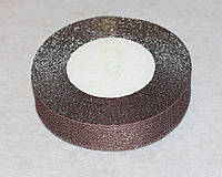 Лента парча 915-40 коричневая 25 мм