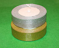 Лента парча 915-4 золото  40 мм