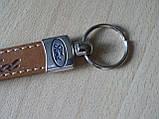 Брелок хлястик Ford логотип эмблема Форд 117мм автомобильный на авто ключи , фото 2