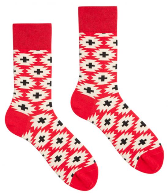 Носки женские Sammy Icon Stucco 36-40, красные