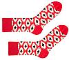 Носки женские Sammy Icon Stucco 36-40, красные, фото 2
