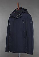 Мужская демисезонная куртка. BLACK VINYL TC18-1265.