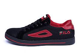 Мужские летние кроссовки сетка FILA  (реплика)