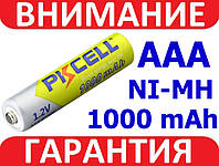 Аккумулятор ААА 1,2В Ni-MH PKCELL 1000 мАч
