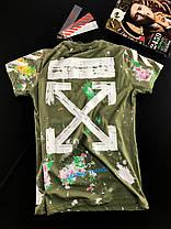 Молодёжная  модная футболка  ОФФ  S, M, L, XL, XXL, фото 3