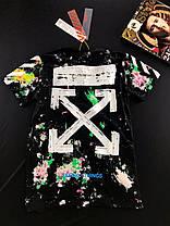 Молодёжная  модная футболка  ОФФ  S, M, L, XL, XXL, фото 2