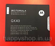 Батарея Motorola MOTO G4 Play XT1602/XT1607/XT1609 (GK40) оригинал