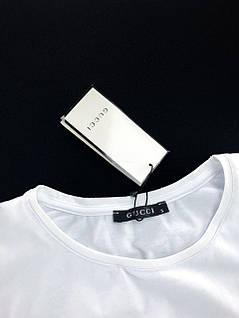 Стильная молодёжная  модная футболка  Gucci S, M, L, XL, XXL, фото 2