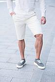 Чоловічі шорти бавовна брендові Томмі Хілфігер світло-бежеві