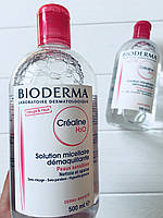 Мицеллярный лосьон Bioderma Crealine (Sensibio) H2O Micellaire Solution 500 мл