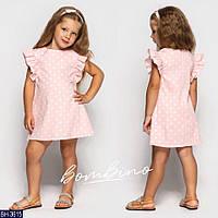 Платье детское летнее детское летнее BH-3615 размер 92-122 см.