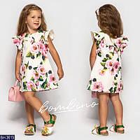 Платье детское летнее BH-3619 размер 92-122 см.