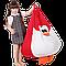 Кресло-мешок Хатка Пингвин детское (красный), фото 3