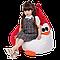 Кресло-мешок Хатка Пингвин детское (красный), фото 2