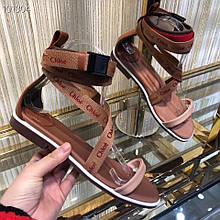 Летние  женские сандали Сhloe.