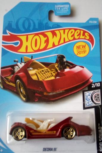 Машинка Hot Wheels 2019 Deora III