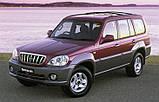 Коврики в багажник Hyundai Terracan 2001-2006 Rezaw-Plast, фото 3
