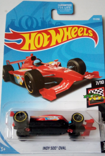 Машинка Hot Wheels 2019 Indy 500 Oval