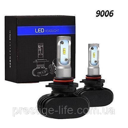 Лед лампы S1 HB4 (9006) (4000Lm 6500K). LED лампы комплект HEADLIGHT
